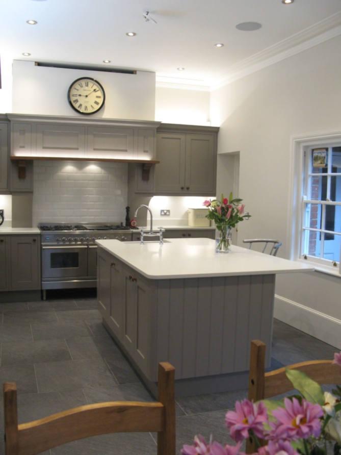 Shaker kitchen finished transformation