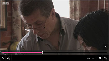 David Haugh on the BBC lifestyle show 'The 100k House'