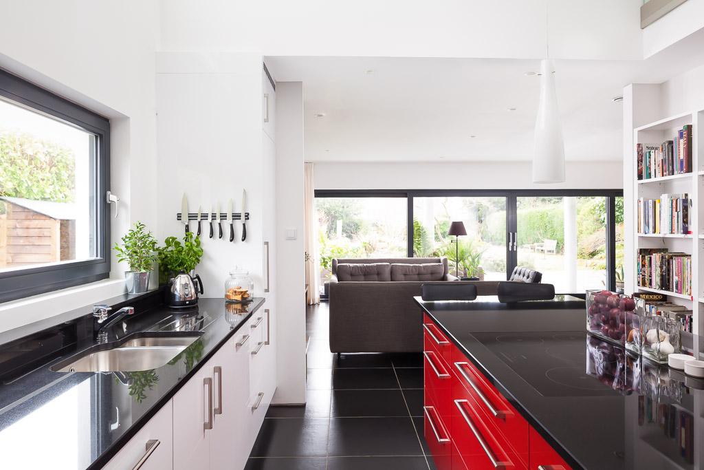 Sandrock Road, Maidstone Modern Kitchen side view