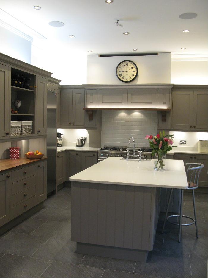 Beautiful Kitchen with Walnut Details alt view
