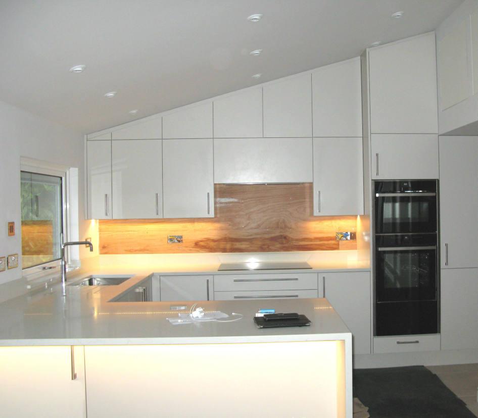 Sloping Ceiling Kitchen, still in progress!