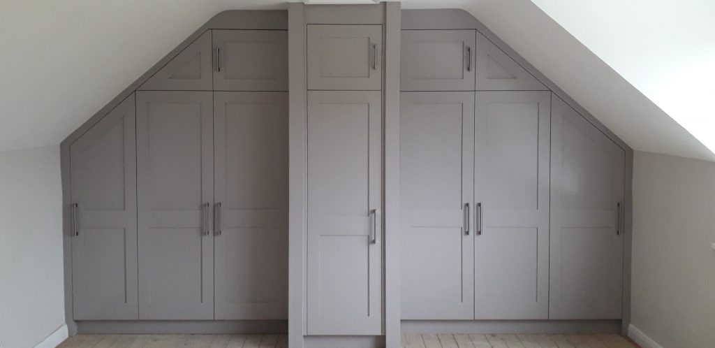 Broom Hill wardrobe front view