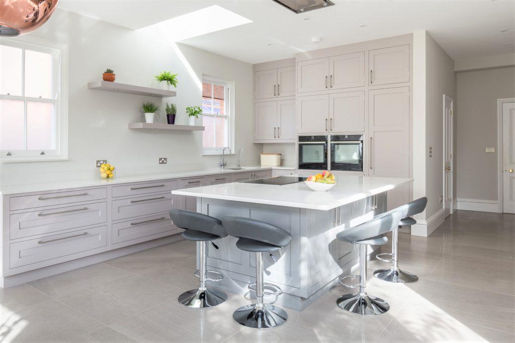Court Road, Tunbridge Wells whole kitchen angled