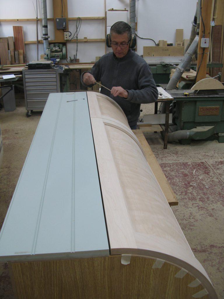 curved kitchen unit build alt