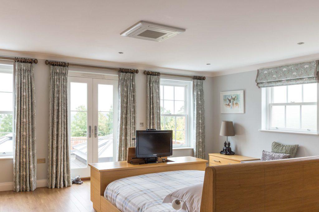 Glenmore Road East hidden tv bedroom