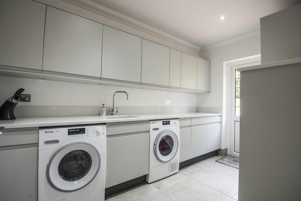 Stoneham handle less Utility room