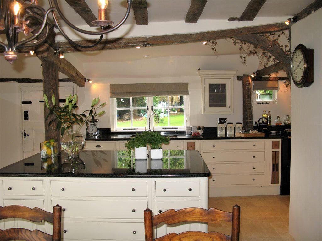 West Peckham, Tonbridge whole kitchen
