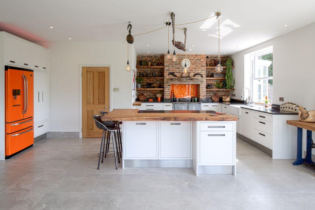 Broom Hill, Battle Modern kitchen front view