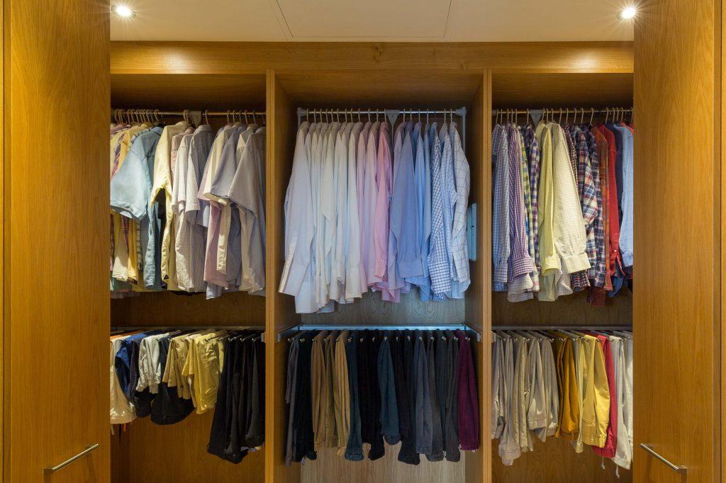 Glenmore Road East fully opened wardrobe