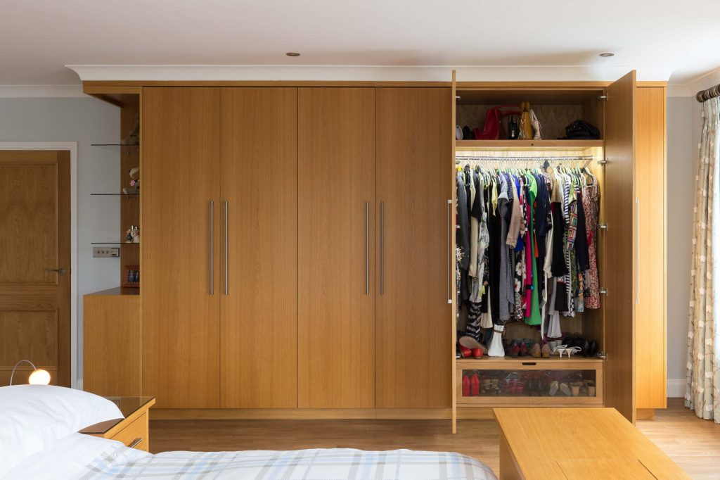 Glenmore Road East open wardrobe