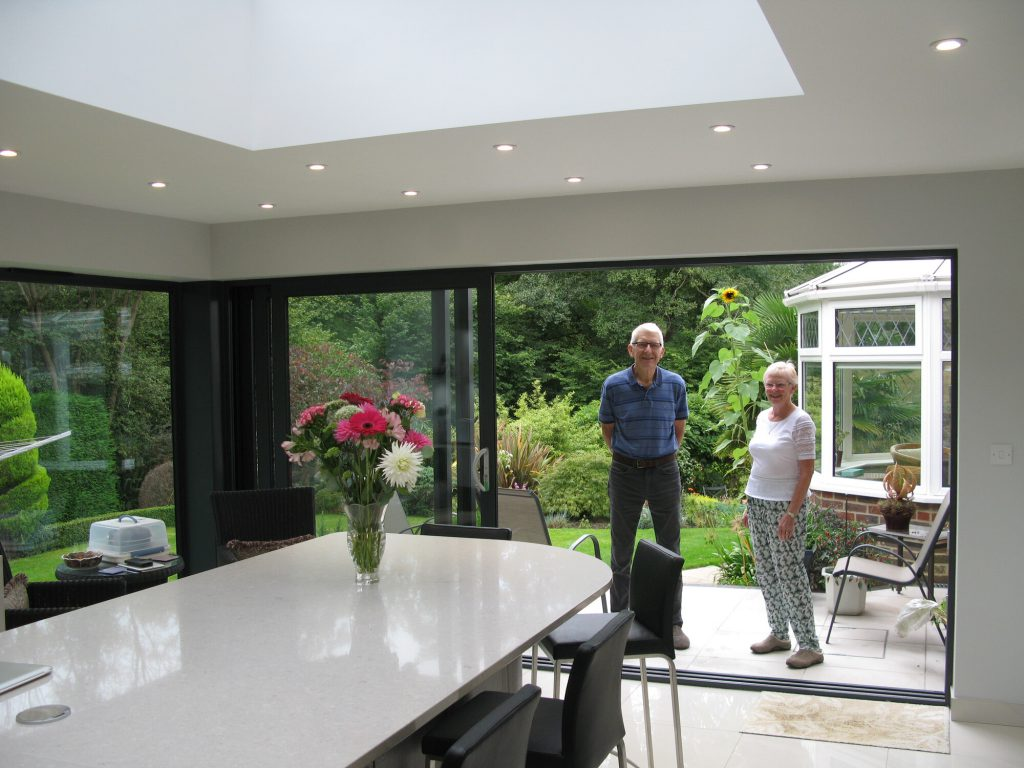 Nightingale Close, East Grinstead with clients