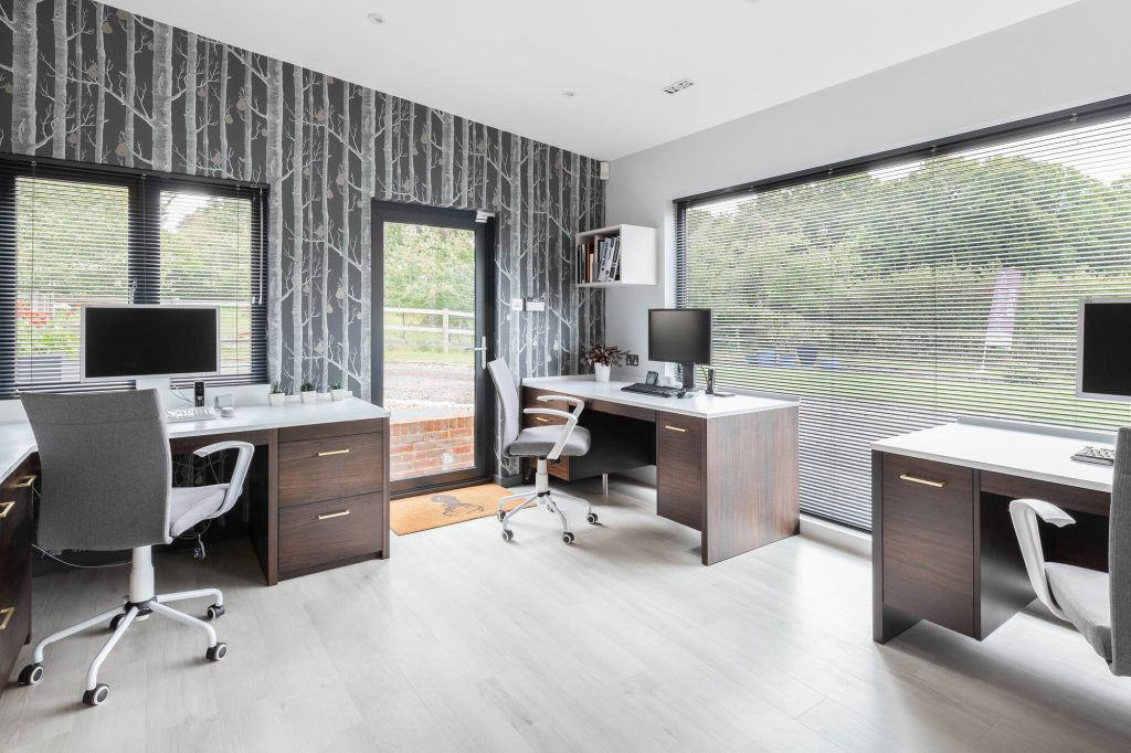 Nobleswood Yard Office Study (showroom)