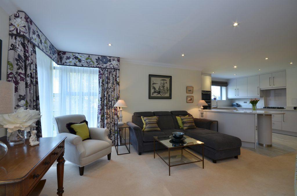 Linden Fields, Tunbridge Wells from lounge view