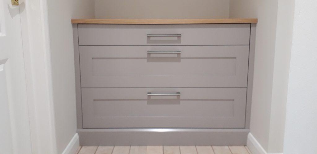 Broom Hill wardrobe drawers