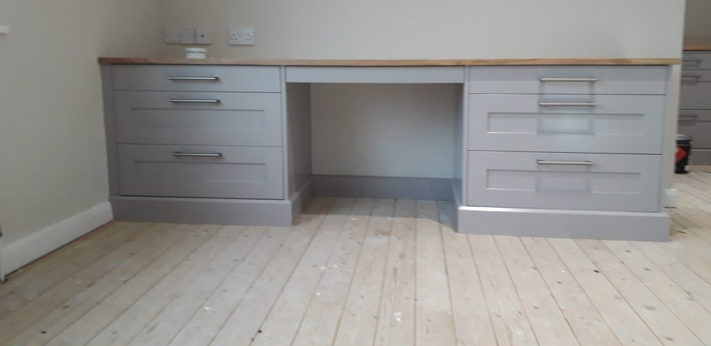 Broom Hill wardrobe desk